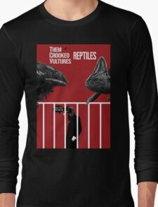 Them Crooked Vultures - Reptiles Long Sleeve T-Shirt