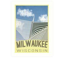Visit Milwaukee Art Print