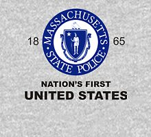 Massachusetts State Police Badge (Nation's First) Unisex T-Shirt