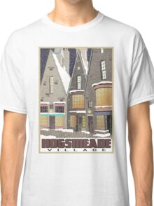 Hogsmeade Village Travel Poster Classic T-Shirt