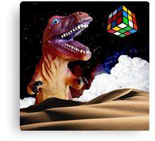 T. Rubix Canvas Print