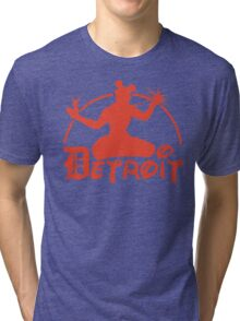Spirit of Mickey - Detroit Tigers Edition Tri-blend T-Shirt