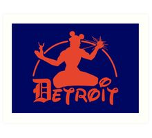 Spirit of Mickey - Detroit Tigers Edition Art Print