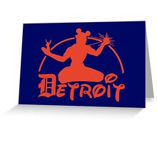 Spirit of Mickey - Detroit Tigers Edition Greeting Card