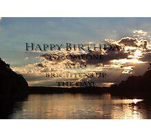 happy birthday to Jerry Photographic Print
