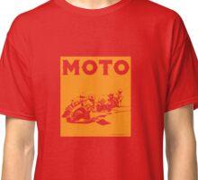 Moto-Orange Classic T-Shirt