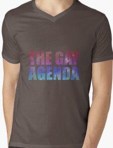The Gay Agenda Mens V-Neck T-Shirt