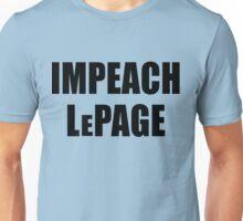IMPEACH LePage of Maine Unisex T-Shirt