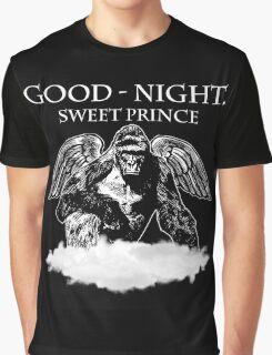Good Night, Sweet Prince Harambe Graphic T-Shirt