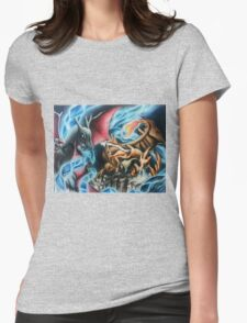 You Made Charizard Angry Womens Fitted T-Shirt