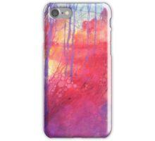 Oltre il sentiero dei faggi d'autunno iPhone Case/Skin