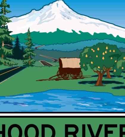 Oregon Scenic Byway - Hood River Sticker
