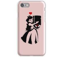TShirt Princess and Bomb Hugger Banksy Parody iPhone Case/Skin