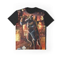 TF2 Pyro Angry Graphic T-Shirt