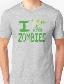 Tshirt I Plants against Zombies T-Shirt