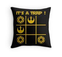 T shirt It's a Trap ! A Tic Tac Trap ! Throw Pillow