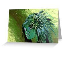 greenlady Greeting Card