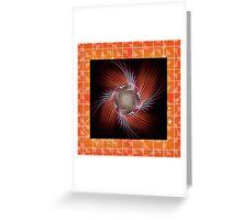 Autumn Colors Pinwheel Greeting Card
