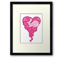 Heart Of Pinkie Pie Framed Print