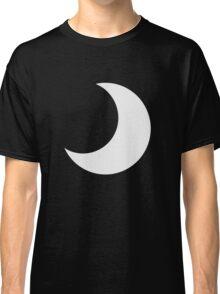 Black crescent moon  Classic T-Shirt