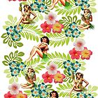 Hawaiian Pin up by Pretty Disturbia