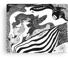 Friends of a Dragon Canvas Print