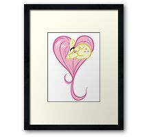 Heart Of Fluttershy Framed Print