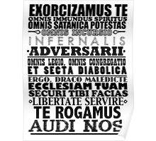 Exorcism Chant Poster