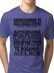 Exorcism Chant Tri-blend T-Shirt