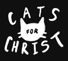 Cats for Christ II Kids Tee