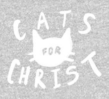 Cats for Christ II One Piece - Long Sleeve