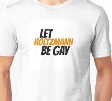 Let Holtzmann Be Gay (orange) Unisex T-Shirt