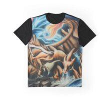 Mega Charizard Graphic T-Shirt