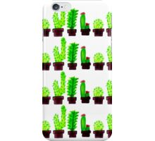 Cacti Doodles iPhone Case/Skin