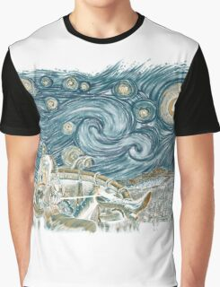 Starry Labyrinth Graphic T-Shirt
