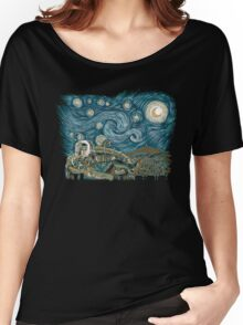 Starry Labyrinth Women's Relaxed Fit T-Shirt