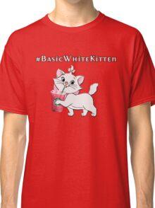 #Basic White Kitten - The Aristocats Classic T-Shirt