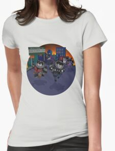Escape Raccoon City Womens Fitted T-Shirt