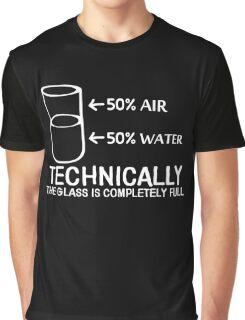 GLASS FULL Graphic T-Shirt