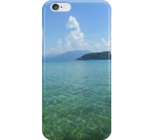 Lake Annecy from the West Side iPhone Case/Skin