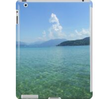 Lake Annecy from the West Side iPad Case/Skin