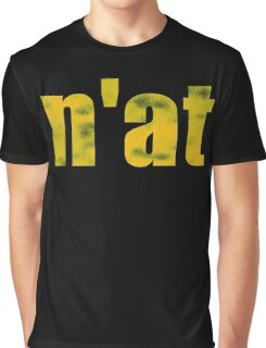 Vintage n'at (Pittsburgh) text Graphic T-Shirt