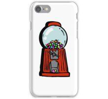 bubble gum machine iPhone Case/Skin