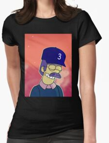 Diddly Book Womens Fitted T-Shirt