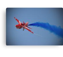 Red Arrow Singleton - Farnborough 2014 Canvas Print