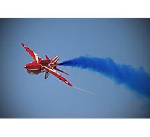 Red Arrow Singleton - Farnborough 2014 Photographic Print