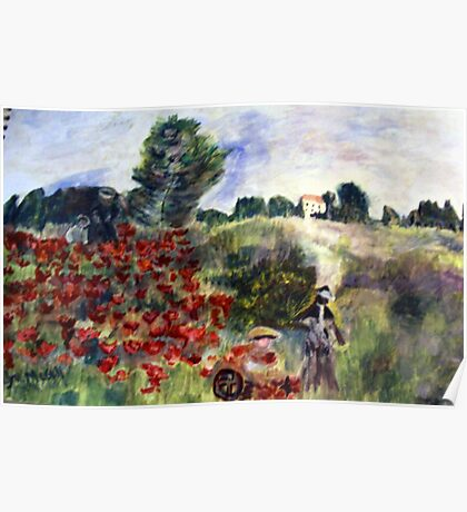 Homage to Monet Poster