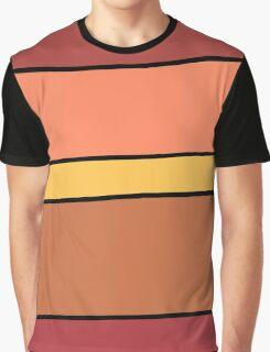 Ketchup and Mustard Graphic T-Shirt
