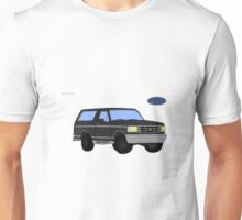 Ford Bronco with logo Unisex T-Shirt