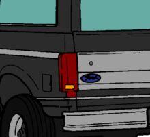 Ford Bronco -Back Sticker